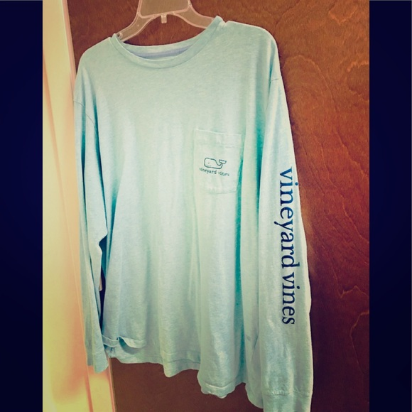 bd0bc3707 Vineyard Vines Shirts | Xl Mens Teal Long Sleeve Shirt | Poshmark